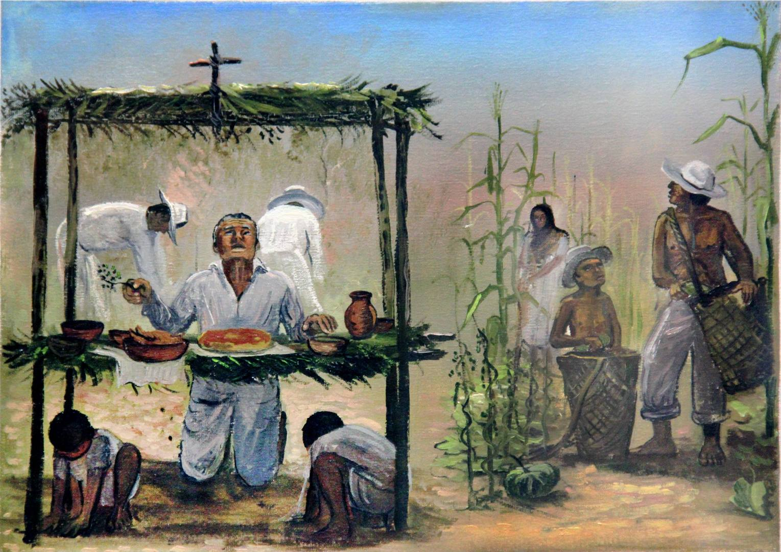 Los trabajos de los mayas